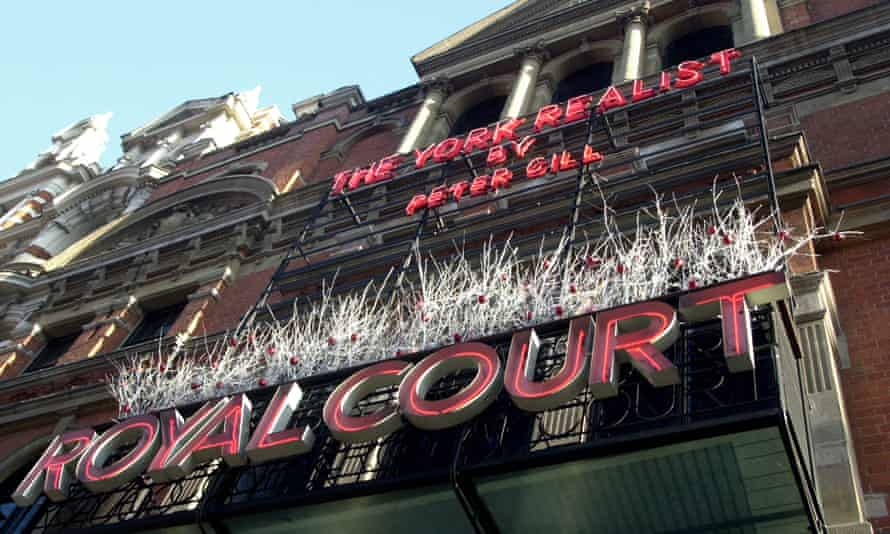 The Royal Court theatre, Sloane Square, London.
