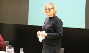 Claire Armitstead welcomes delegates to the Guardian Education Centre Reading for pleasure conference 5 March 2018