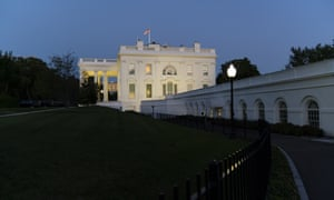 The White House last night.