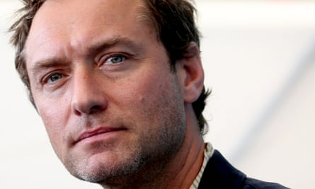'I've never stayed in character for such a long period of time' … Jude Law, who stars in new TV series The Third Day.