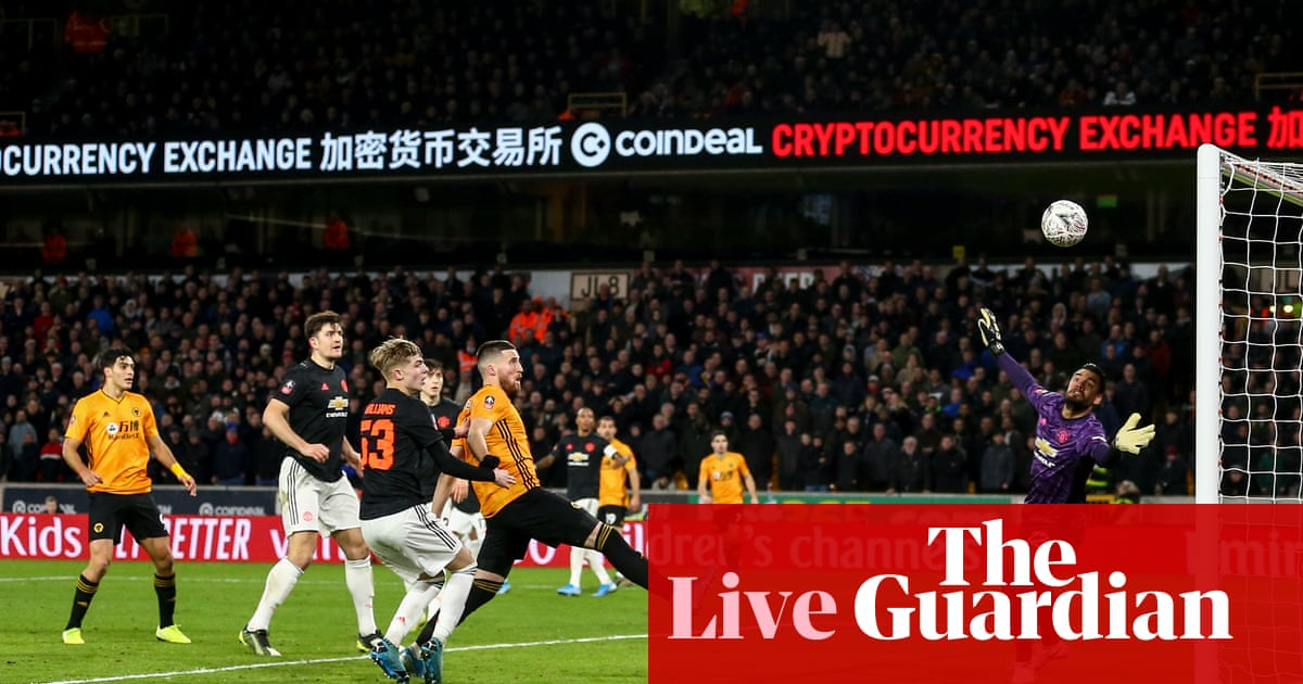 Wolves 0-0 Manchester United: FA Cup third round – as it happened