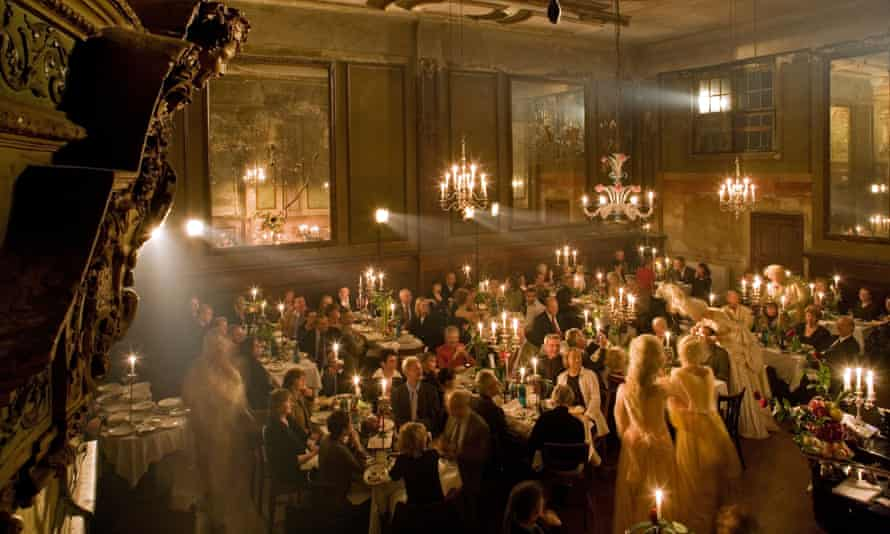 Candlelight party at the Claerchens Ballhaus, Berlin, Germany.