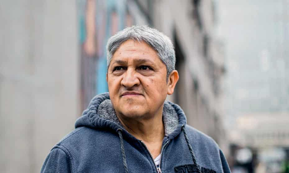 Roberto, who has worked as a cleaner in Topshop for over three years