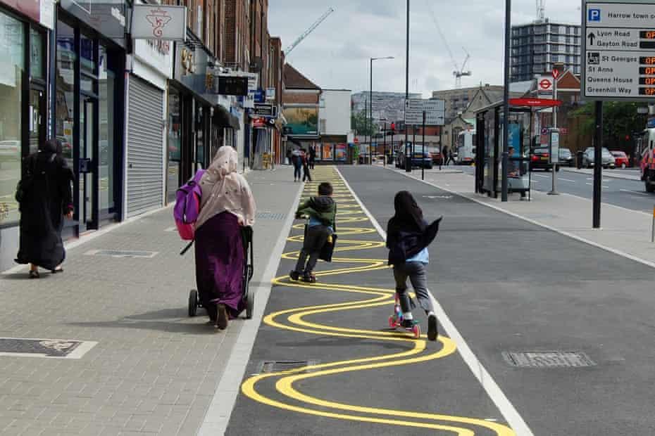 Sign of a healthy city? ... Station Road, Harrow.