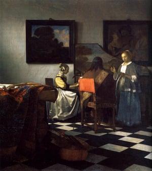 Art theft: Jan Vermeer's The Concert