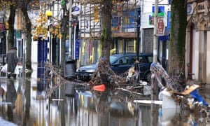 During 2009 in Cumbria, the insurance industry paid out £175m of claims due to flooding.