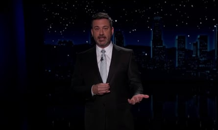 Jimmy Kimmel on Trump: 'Soon he's gonna understand what it feels like to be evicted from your home in the middle of a pandemic.'