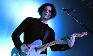 Man on a mission … Jack White.