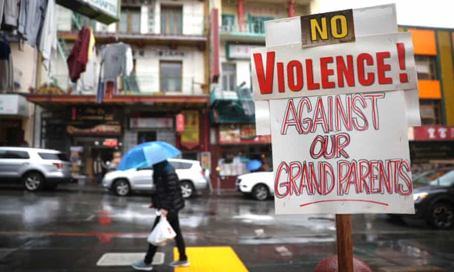 Nearly 800 000 Raised For Two Elderly Asian People Attacked In San Francisco San Francisco The Guardian