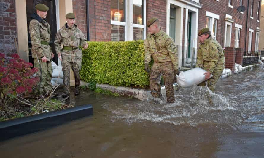 Floods in Carlisle, Cumbria