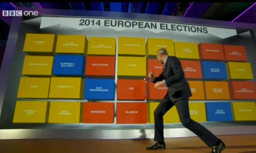 Jeremy Vine fronts BBC coverage of the 2014 European elections