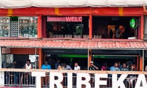 Bar veranda in Nairobi, Kenya