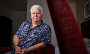 """HARROGATE, 20 July 2017 - Crime novelist Val McDermid at the Theakston Old Peculiar Crime Writing Festival in Harrogste.Christopher Thomond  for The Guardian."""