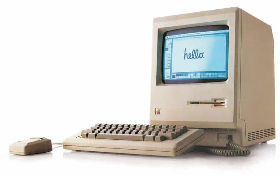 The 1984 Apple Macintosh.