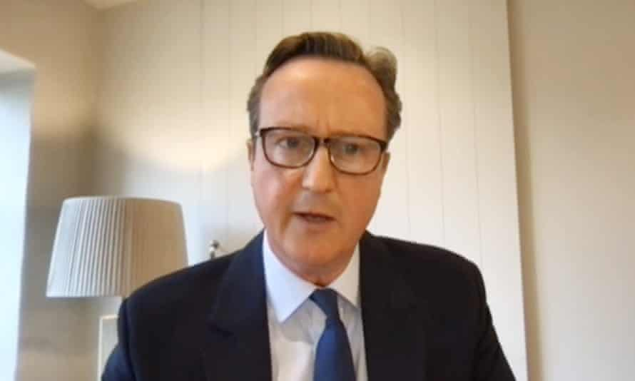 David Cameron lurched from one car crash to another.