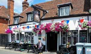 The Queen's Head Pub in Wokingham, Berkshire