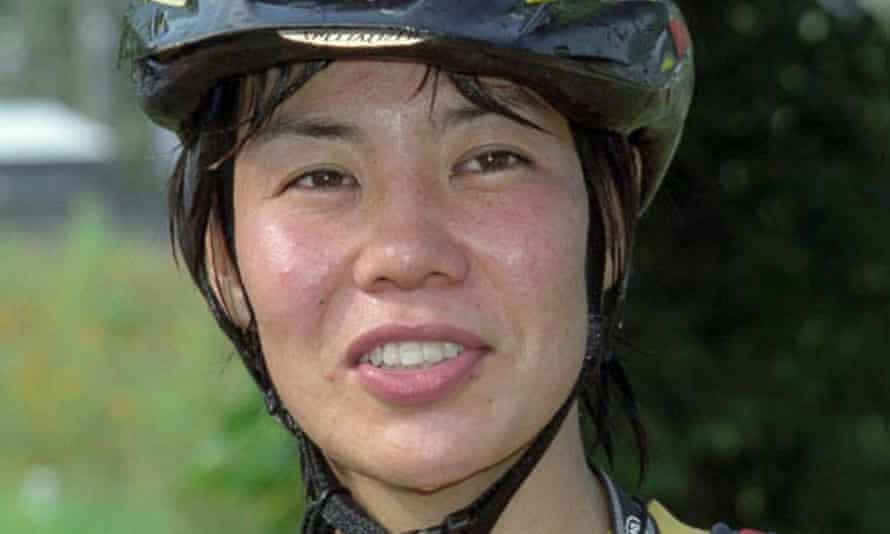 Kei Taniguchi in 2001. 'I don't like rushing to a destination, reaching the base of a peak in the shortest possible time and starting to climb right away,' she said.