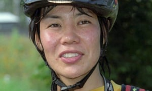 Kei Taniguchi, shown in a 2001 photograph, has died in a fall from a Japanese peak.