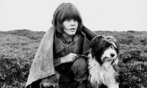 The Water BabiesActor Tommy Pender with his dog, in a scene from the film 'The Water Babies', 1978. (Photo by Stanley Bielecki Movie Collection/Getty Images)