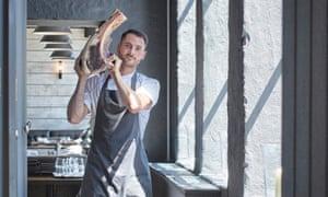 "Chef Owner Sam Elliott of Pasture: ""An unabashed, balls-out steakhouse""."