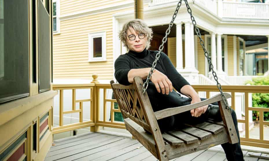 Historian Jill Lepore photographed last month near her home in Cambridge, Massachusetts.