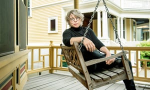 Historian and writer Jill Lepore, photographed near her home in Cambridge, Massachusetts