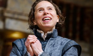'Clearly a thinking actor' … Michelle Terry as Rosalind in As You Like It at Shakespeare's Globe in 2015.