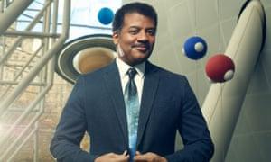 Neil DeGrasse Tyson at the Heyden Planetarium, where is director, in New York.