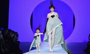 Jean Paul Gaultier has turned the concept into high art, with Coco Rocha and her daughter appearing at his spring/summer show in Paris in January.