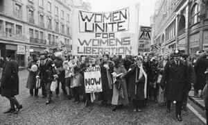"""JH: 'It was a carnival of the under-privileged majority. """"Equal pay is not enough"""" read one banner. """"We want the moon""""'"""