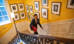 Rishi Sunak at Downing Street in september