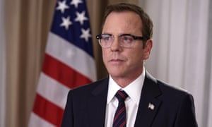 'A really great concept without the backing of a real leader behind it' ... Kiefer Sutherland in Designated Survivor.