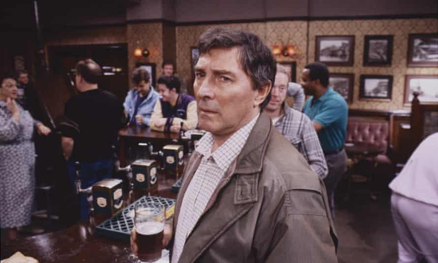 Mark Eden as Alan Bradley in Coronation Street in 1989