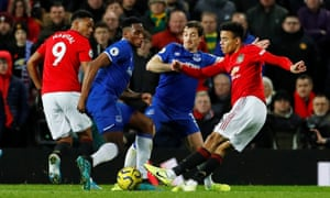 Mason Greenwood Equaliser Rescues Manchester United Against Everton Football The Guardian