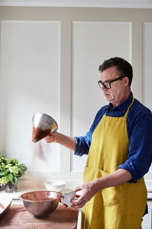 Jeremy Lee making brownies: 'Dad gave me the distinct impression that a brownie was North America in chocolate form.'