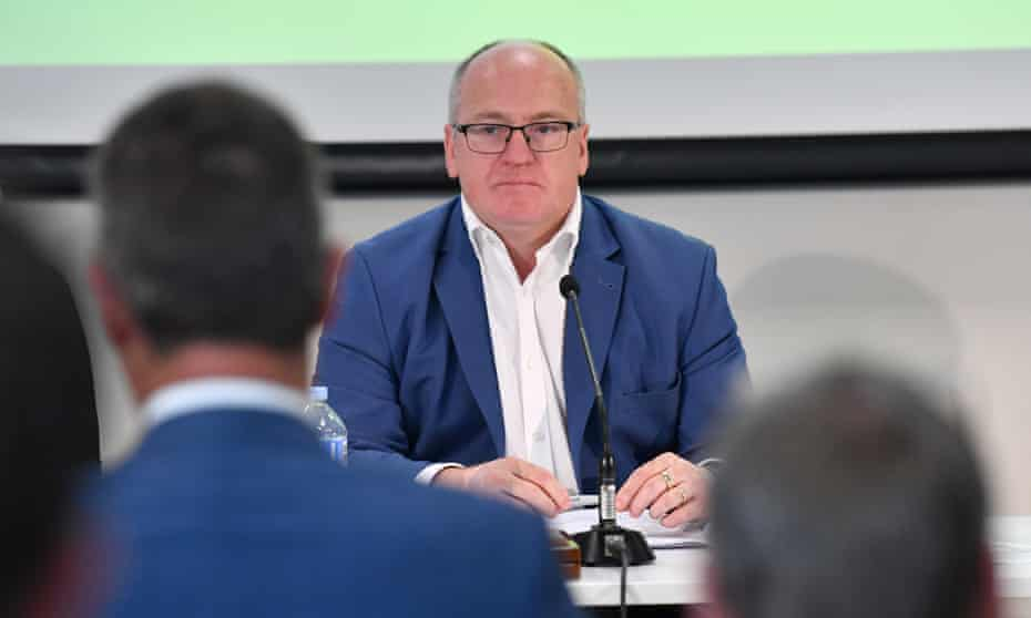 Cricket Australia's chairman Earl Eddings has resigned a day before the annual general meeting.