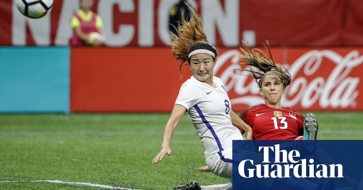 5aa41cffa05 Alex Morgan caps USA women s dominant victory over South Korea. Alex  Morgan
