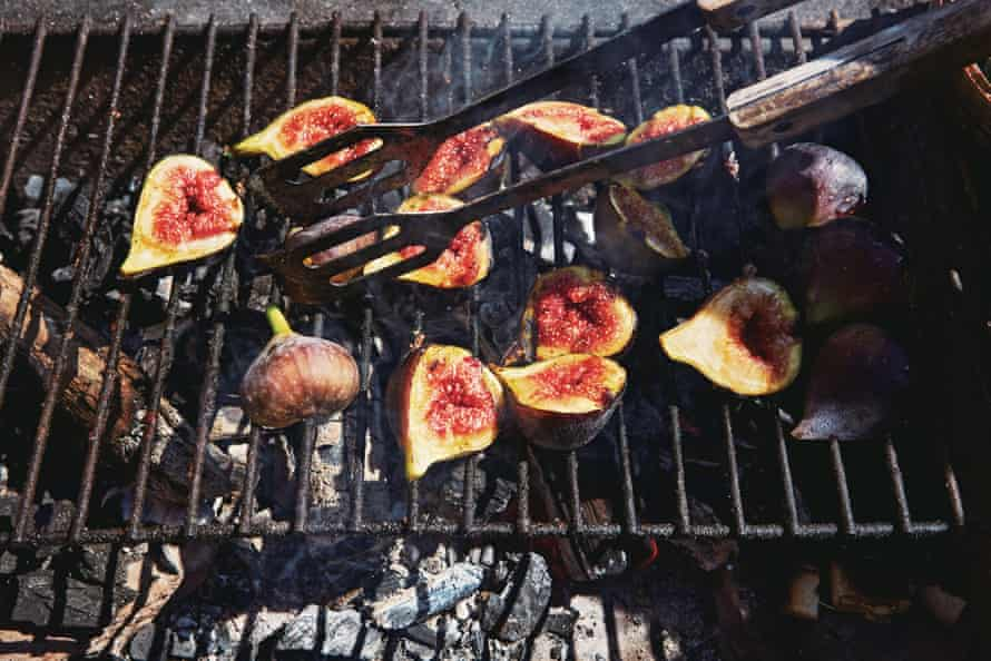 Cue tips: Honey & Co's grilled figs.