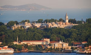 The Topkapi palace in Istanbul. As a guide to the city, John Freely was peerless; it is doubtful whether any westerner in the late 20th century had a better understanding of Istanbul than he did.