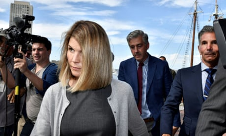 College bribery scandal: Lori Loughlin and husband plead guilty in court