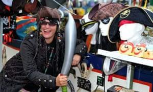 Heidi Manning runs the Pirate Boat