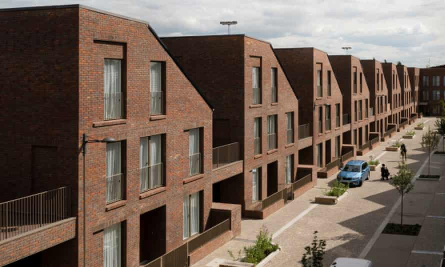 Dujardin Mews, council-led social housing in Enfield.