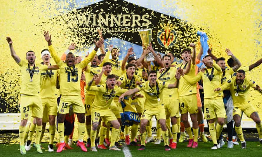 Villarreal, Chukwueze win Europa League, beat Man. U. on penalties
