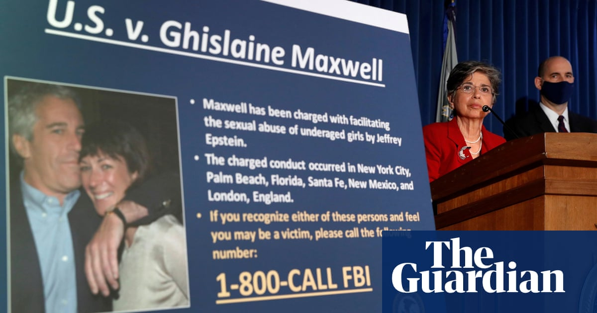 Ghislaine Maxwell: court unseals documents related to dealings with Epstein - The Guardian