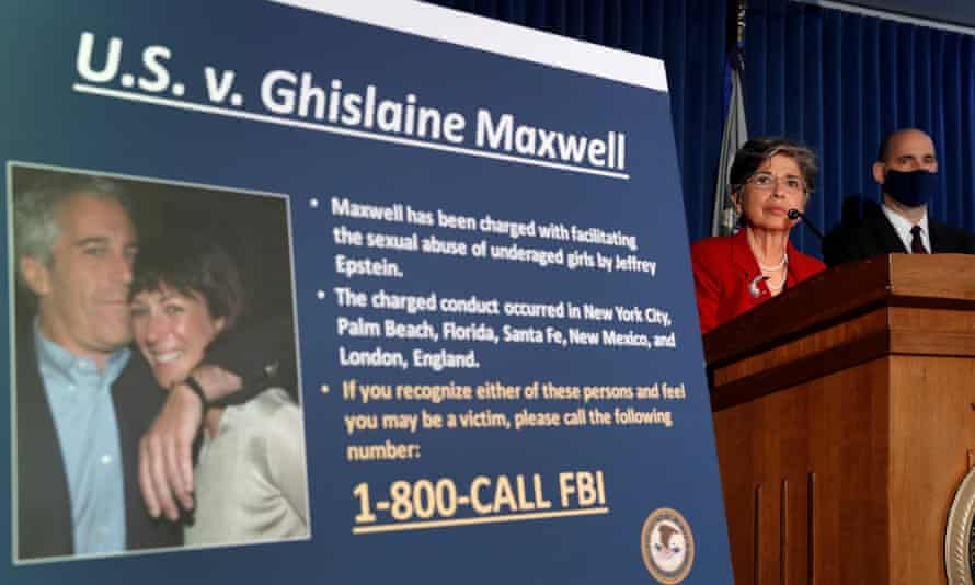 Officials in July announce charges against Maxwell. Federal agents arrested Maxwell in New Hampshire.