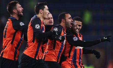 Roma v Shakhtar Donetsk: Champions League – live!
