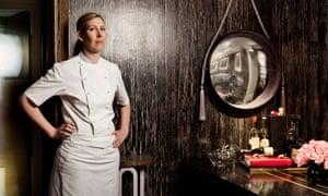 Clare Smyth, photographed at Restaurant Gordon Ramsay.