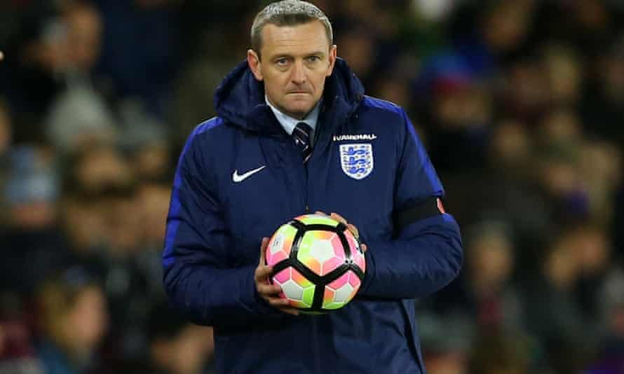 Aidy Boothroyd is set to step up from his role with the England under-20s side