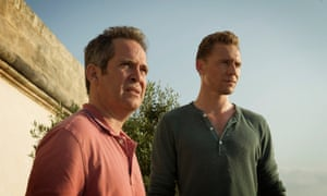Tom Hollander and Tom Hiddleston in The Night Manager: 'Villains are seldom as multidimensional as Corky.'