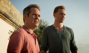 Tom Hollander and Tom Hiddleston in The Night Manager